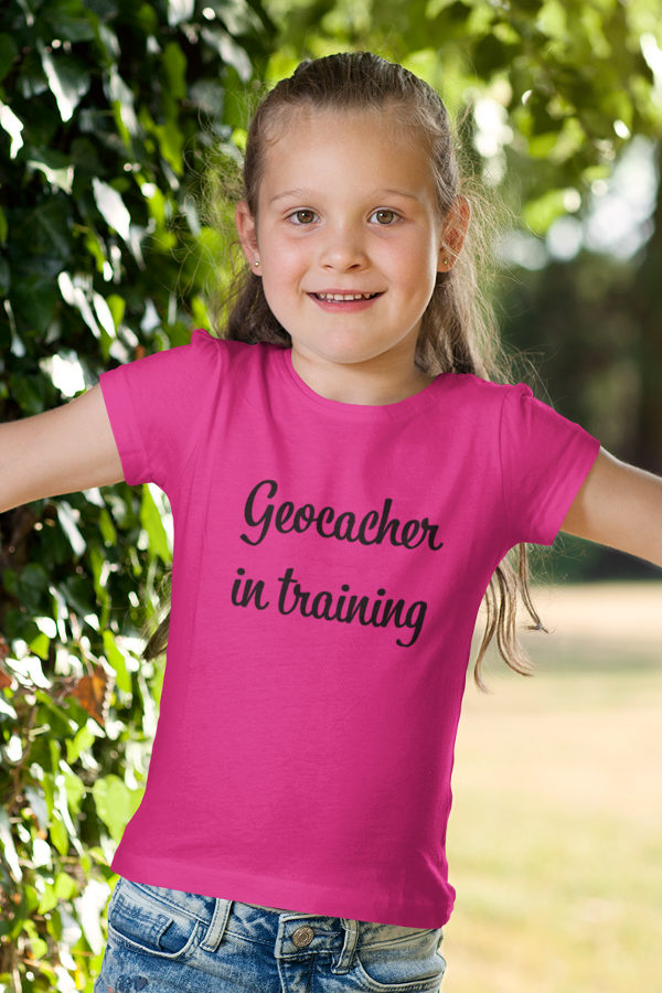 Tričko Geocacher in training